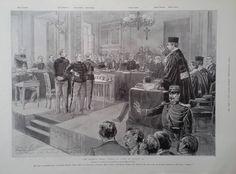 1899 PRINT THE DREYFUS TRIAL