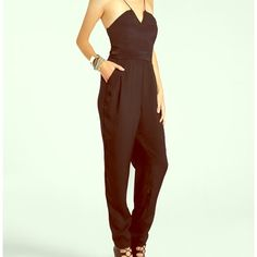 BNWT SEXY BCBG Black Pants Jumpsuit SZ 2 SUPER HOT! Brand New with tags!!BCBGeneration Black Jumpsuit in size 2. The cut of this top is everything, it is instantly sexy. Never been worn, I have a very similar one so selling this! Happy Poshing 😘 BCBG Pants