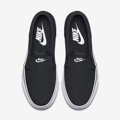los angeles 78c2f ad40a Nike Toki Slip-On Canvas Women s Shoe Nike Slip On Shoes, Nike Slip Ons