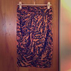 Zara skirt Zara draped pencil skirt...very fun! ❌🅿️🅿️❌traded. Please use the offer button 😉 Zara Skirts