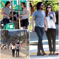 """#CoupleAlert Rose Leslie (Ygritte) spent her birthday yesterday in Los Angeles with none other than Kit Harington!"""