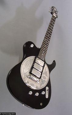 Zemaitis Disc Front Guitar