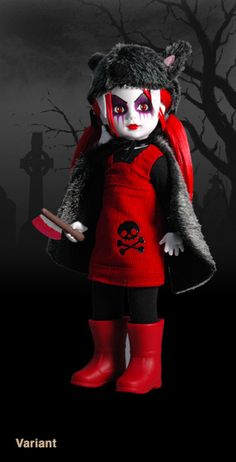 Living Dead Dolls Present Scary Tales: Little Red Riding Hood (variant)