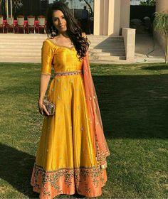 Yellow pure banglori silk anarkali suit Fabric Details :- Dress : Pure Banglori Silk Dupatta : Pure Net Bottam : Santoon Inner : Santoon Size:- & Heavy Embroidery Thread Work, Zari Work & Hand Work Price INR ONLY ! Book Order On WhatsApp : 9054562754 # Silk Anarkali Suits, Half Saree Lehenga, Saree Gown, Anarkali Dress, Silk Dupatta, Sarees, Bridal Anarkali Suits, Choli Dress, Indian Designer Outfits