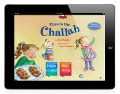 An interactive, animated, talking Shabbat book with games. Children can listen and read along with the narrator, or even record you or themselves reading aloud.
