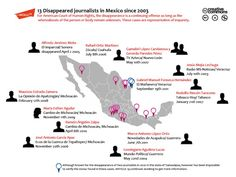 A Grim Map of Disappeared Mexican Journalists - Politics - The Atlantic Cities