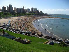 Mar Del Plata Beach, Argentina