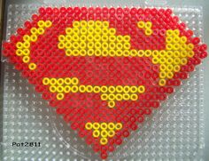 Perle Hama : Superman