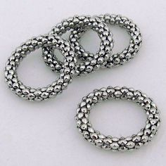 Scarf rings and they are only $4.90. Love how they look on a scarf, subtle but pretty! #scarves #scarf jewelry