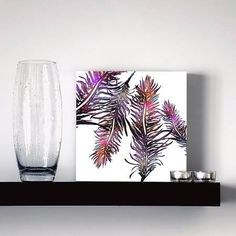 quadro color feathers