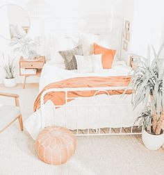 Cute Bedroom Decor, Room Ideas Bedroom, Home Bedroom, Bedroom Inspo, Study Room Decor, Aesthetic Bedroom, Dream Rooms, My New Room, Girl Room