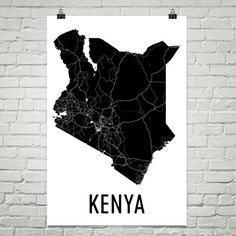Kenya Map, Map of Kenya, Kenyan Art, Kenyan Decor, Kenya Gift, Kenya Print, Kenya Poster, Kenya Wall Art, Kenya Art, Kenyan Gifts, Kenyan  URL : http://amzn.to/2mOD07b 50% Discount Code :  QP4BKMDQ