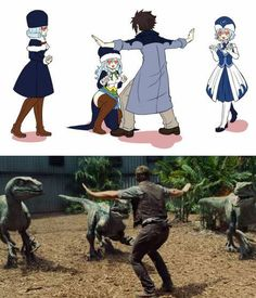 Gruvia and Jurassic World. Lol, The accuracy is unbelievable Fairy Tail Gray, Fairy Tail Meme, Fairy Tail Manga, Anime Fairy, Arte Fairy Tail, Fairy Tail Amour, Fairy Tail Gruvia, Fairy Tail Comics, Fairy Tail Natsu And Lucy