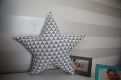 pillow in the shape of stars  45cm by MisiaLove on Etsy