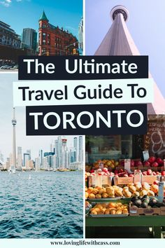 If you love exploring cities, you must add Canada's largest city, Toronto, to your bucket list. This travel blog will help you plan your perfect trip to Toronto, Canada. Discover fun things to do in Toronto, trendy Toronto restaurants, and the coolest neighbourhoods to explore like the Distillery District and Kensington Market. Click and find all the travel inspiration you need to get you excited to visit Canada. #traveltoronto, #toronto, #explorecanada #travelcanada #discoverontario Travel List, Travel Guides, Montreal, Canada Vancouver, Alberta Travel, Toronto Travel, Us Destinations, Visit Canada, Barcelona Travel