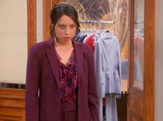 April's Pantsuits -- Parks and Recreation. Parks And Recs, April Ludgate, Aubrey Plaza, Fleetwood Mac, Parks And Recreation, Hero, Tv, Girls, Movies