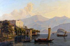 August von Bonstetten (Berna, 1796 - Vechigen, 1879) Villa Carlotta, Lago de Como.