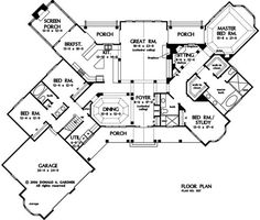 The Richelieu House Plan Images - See Photos of Don Gardner House Plans - Plan # 1157 floorplans\11571_f.gif by veronica.heathcock.3