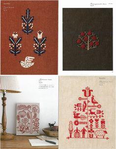12 meses bordado por Yumiko Higuchi bordado por KateJapanesefabric