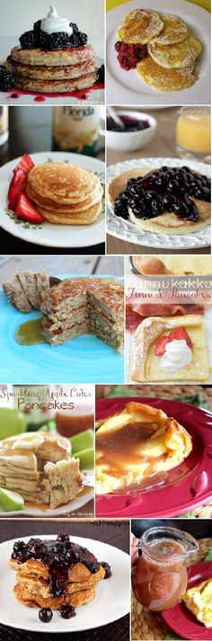 I can never seem to have enough #pancakes  Roundup from Jenn's Random Scraps: Pancake Tuesday