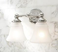 Brass Bathroom Fixtures & Sussex Collection | Pottery Barn