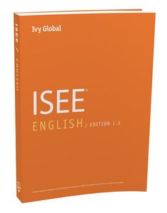 ISEE English book - includes strategies, tips, and drills for the english portion of the exam