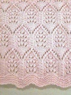 tulip lace knitting pattern ile ilgili görsel sonucu