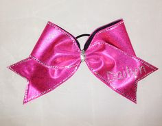 Personalized Bow www.justcheerbows.com
