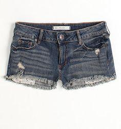 Bullhead Black Basic Fray Hem Shorts $36.50