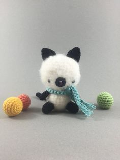 Amigurumi Cat Crochet Cat Amigurumi Kitty Crochet by MossyMaze