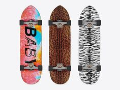 Saint Laurent Surf Sound Skateboards Collection