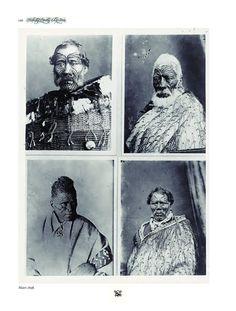 Portraits of Paora Torotoro, Matenga Tukareaho, Tukaroto Matutaera Potatau Te Wherowhero Tawhiao, and one other unidentified Maori man Tonga, Maori Legends, Tattoo Museum, Polynesian People, Amsterdam Tattoo, Maori People, History Tattoos, Samoan Tattoo, Maori Tattoos