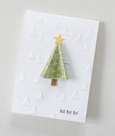 superschnelle Weihnachtskarte