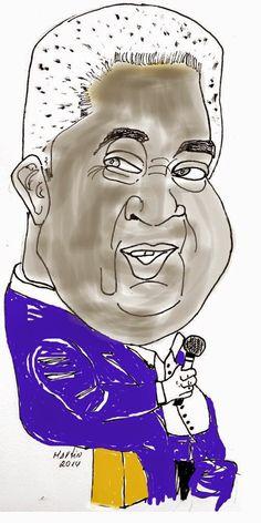 """CARICATURAS DELBOY: ARTURO """"ZAMBO""""CAVERO"""