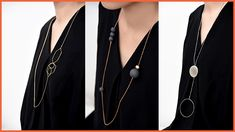 It's hard to pick between these three long geometric necklaces by Canadian designer Pursuits. Festival Party, Film Festival, Geometric Necklace, Style Guides, Necklaces, Jewelry, Jewlery, Bijoux, Chain