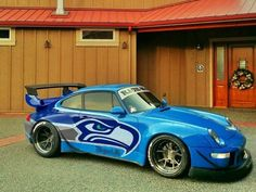 Hawk rods - rides that celebrate the Seahawks