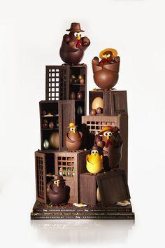 Le Chocorico ! Easter 2012 by la Maison du Chocolat #maisonduchocolat #chocolate #pastry #gastronomy #macaronsetgourmandises