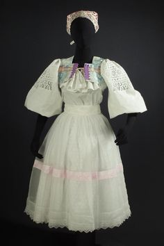 Slovak Wedding Kroj Detva Folk costume