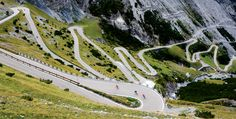 The Mortirolo, the Gavia, and the Stelvio, Italy http://www.bicycling.com/rides/vacation/7-places-to-ride-before-you-die/slide/4