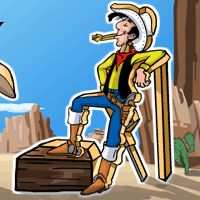 The Daltons are back and have dirty plans. It is up to Lucky Luke to stop them. Help Lucky Luke to get rid of the Daltons and to ensure that peace is back