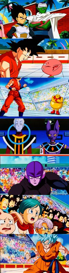 Universe 6 survival arc! By: Salvamakoto #SonGokuKakarot