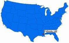 Folsom, LA ... home of Camp David ...!