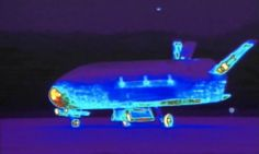 The X-37B space drone, otherwise known as the Orbital Test Vehicle, has been in flight since December 2012 on a secret mission and has landed safely on the Southern California coast.