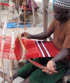 Weaver at the Tanje Village Museum, The Gambia (@David Nilsson Nilsson Copeland Dreams)