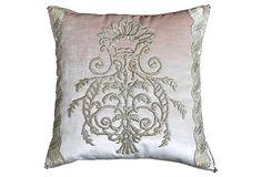 Pillow w/ Antique Ottoman Textile on OneKingsLane.com