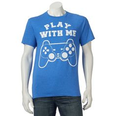Men's Play With Me Tee, Size: