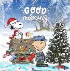 Good Morning Christmas, Merry Christmas Gif, Christmas Scenery, Peanuts Christmas, Charlie Brown Christmas, Christmas Music, Christmas Wishes, Christmas Greetings, Christmas Time