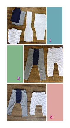 pants...would be great for repurposed wool soakers out of sweaters.