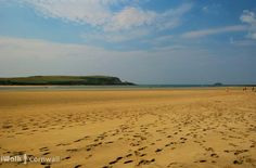 Daymer Bay at low tide, Cornwall