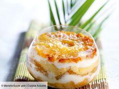Coconut Pineapple Tiramisu – Recipes - Top Of The World Homemade Cake Recipes, Cookie Recipes, Appetizer Recipes, Dessert Recipes, Cake Recipes From Scratch, Coconut Recipes, Tiramisu Cake, Cheesecake Recipes, Apple Cheesecake